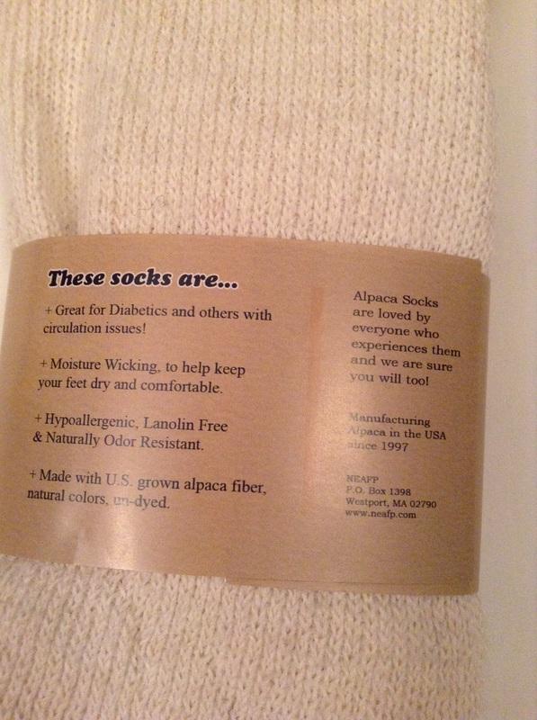 Diabetic Alpaca Socks - Positively Alpaca Farm, LLC